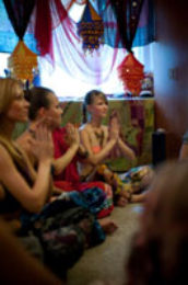 Мастер – класс по индийскому танцу