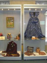 Выставка индийской одежды, украшений и предметов быта