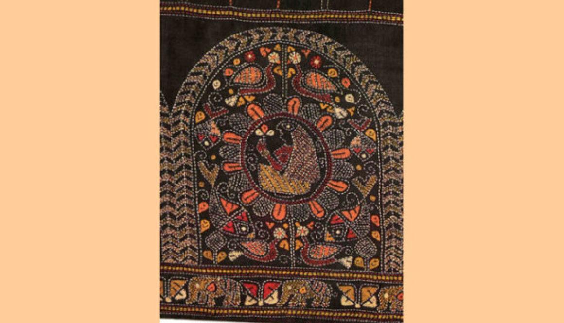 Национальная вышивка Индии